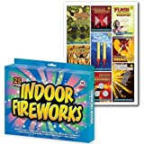 25 Piece Indoor Fireworks in Gift box
