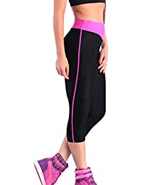 iLoveSIA® Damen leggings Sport Jogging Capri YOGA