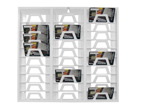 SCM PC-Card - Soporte de pared para tarjetas (espacio para 30 tarjetas,...