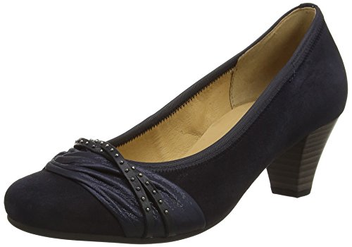 Gabor Shoes 45.481 Damen Pumps, Blau (36 pazifik/ocean),, 40 EU ( 6.5 UK ) -