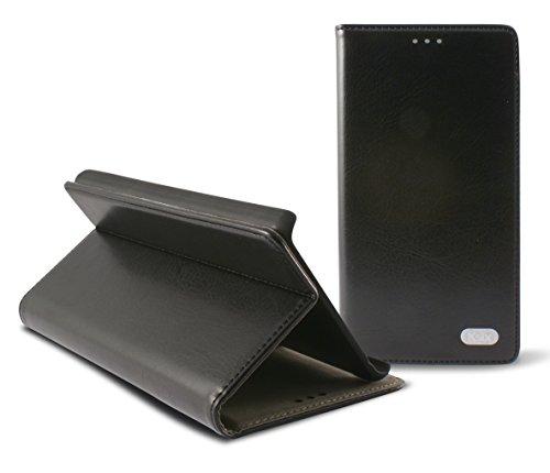 KSIX Standing Folio Hülle für LG L90 schwarz (Lg L90 Case Folio)