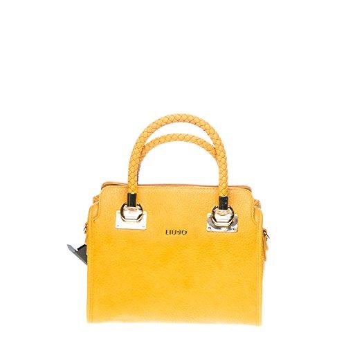 LIU JO ANNA BOSTON BAG N66084E0011-60950 Light senape