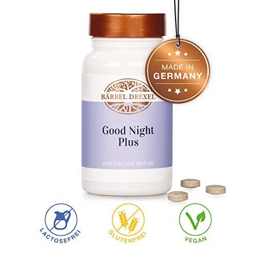 BÄRBEL DREXEL Good Night Kapseln Lavendel Einschlafhilfe Erwachsene Schlafmittel (160 Stk) 100% Vegane Herstellung Deutschland Ashwagandha Nervenruhe Melisse -