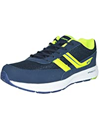 Campus Mens Blue Green Colour 3G8213 Series Synthetic And Nylon Mesh Sport Shoes