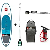 2017 Red Paddle Co 10'7 Ride WINDSUP Inflatable Stand Up Paddle Board + Bag, Pump, Paddle & LEASH