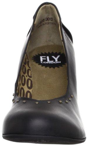 Fly London - Scarpe col tacco, Donna Nero (Black)