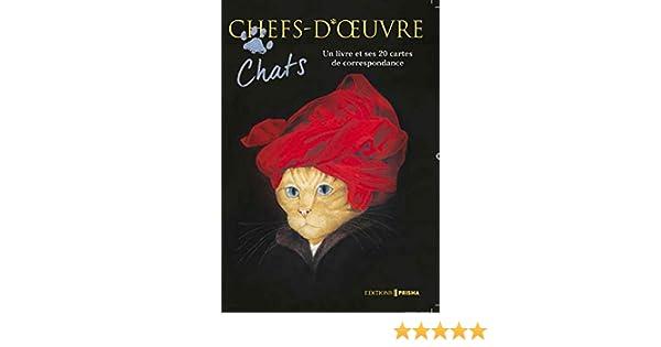 Coffret Chats Chefs-dOeuvre Coffret produits – 6 octobre 2016 Susan Herbert  Editions Prisma 2810419299 Humour Cadeaux de vacances 5765f2ef9a77