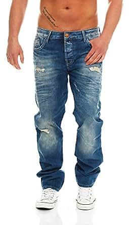 Cipo & Baxx - C-1010 - Regular Fit - Men/Herren Jeans Hose, Hosengröße:W34/L34