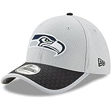 Seattle Seahawks New Era NFL 39THIRTY 2017 Sideline Gray Flex Fit Hat Hut