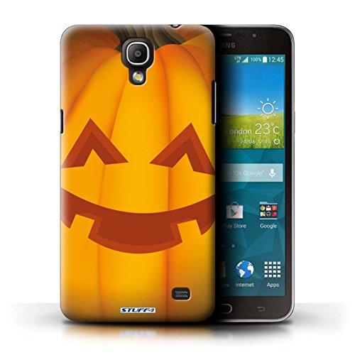 Stuff4 Hülle / Hülle für Samsung Galaxy Mega 2 / Glücklich Muster / Halloween Kürbis Kollektion (Glücklich Mega Halloween)