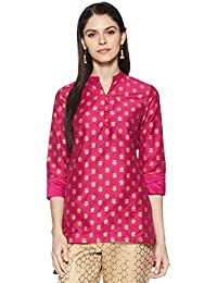 Amazon Brand - Myx Women's Polyester Straight Kurti