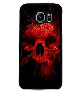 PRINTVISA Darna Mana Hai Premium Metallic Insert Back Case Cover for Samsung Galaxy S6 - D6002