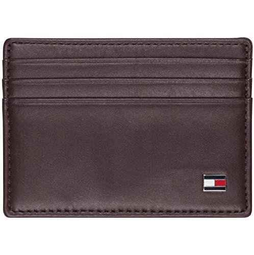 Tommy Hilfiger Herren ETON CC HOLDER Geldbörsen, Braun (Brown 041), 10x8x2 cm