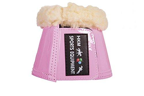 HKM 41903800.0652 Hufglocken Comfort Lack mit Polsterung, rosa