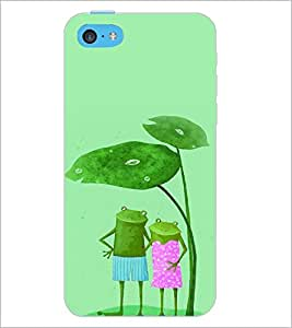 PrintDhaba Funny Image D-4426 Back Case Cover for APPLE IPHONE 5C (Multi-Coloured)