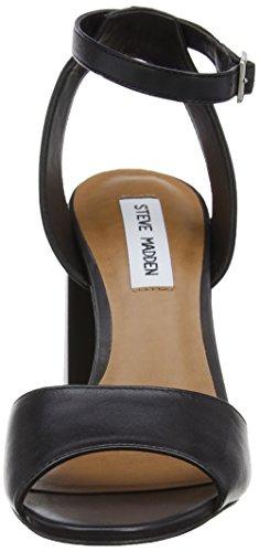 Steve Madden - Stride Sandal, Scarpe col tacco Donna Black (Black)