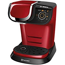 Bosch TAS6003 Machine Multi-Boissons 1300 W, 1,3 L, Rouge