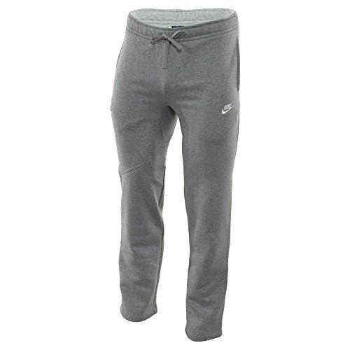 Nike M Nsw Oh Flc Pkt-Club, Pantaloni da uomo Gris (Dk Grey Heather / White)