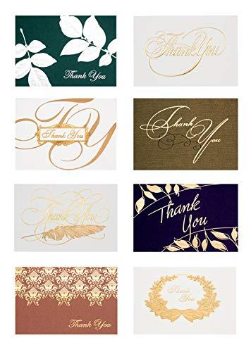 Ranvi 8 PC kreative Prägung danken Ihnen Karten, spezielles Geschenk für Hochzeit, Geschäft, Jahrestag, Staffelung