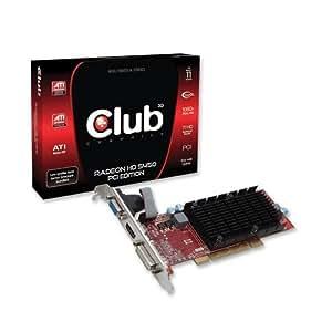 Club3D RADEON HD 5450 512MB DDR2 PCI VGA DVI HDMI LP PASSIVE, CGA-5452PLI (PCI VGA DVI HDMI LP PASSIVE)