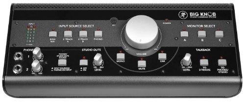 Mackie Big Knob - equipos de música adicionales (25W, 110-120V, 60 Hz, 34,3 cm, 15 cm, 8,1 cm) Negro