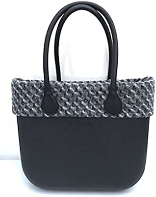 O BAG , FULL SPOT - Bolso al hombro para mujer negra