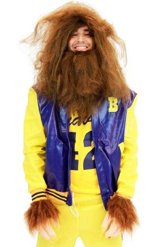 Teen Wolf Medium Erwachsene Movie Kostüm Beavers 42 Werewolf mit Jacke (Teen Wolf Kostüm)