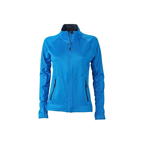 Veste polaire stretch femme cobalt/marine