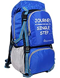 POLE STAR Rocky PRO 60 lt Blue Rucksack I Hiking & Trekking Backpack Bag with rain/dust Cover