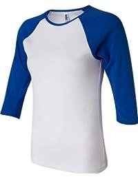 Bella :  Rib 11 3/4–manches Raglan T-Shirt 2000