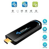 EZCast 2.4G / 5G de doble banda Wireless Display Dongle 1080P HDMI Adapter Video streaming cliente Wifi Media Streamer Soporte Miracast / Airplay / DLNA