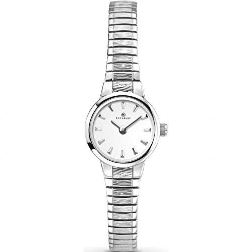 Accurist 8049 acciaio INOX argento-Orologio da donna