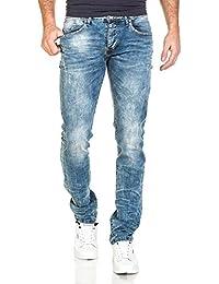 BLZ jeans - Jean bleu clair fashion délavage tendance