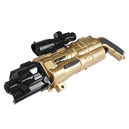 ZZG Reality Cs Dschungel Feld Elektrische Wasserpistole DIY Montiert Spielzeug,Gold