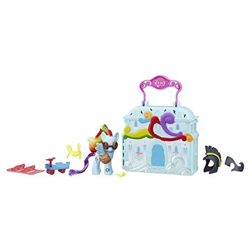 My Little Pony - Explore Equestria - Rainbow Dash Wolkenhaus - 1 Figur + Zubehör