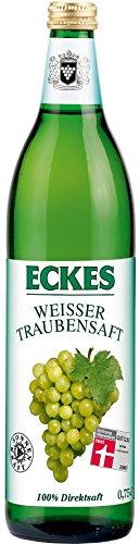 100% Traubensaft (Eckes Traubensaft Weiss 0,75l EW)