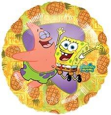 Folienballon Spongebob Sponge Bob Patrick unbefüllt