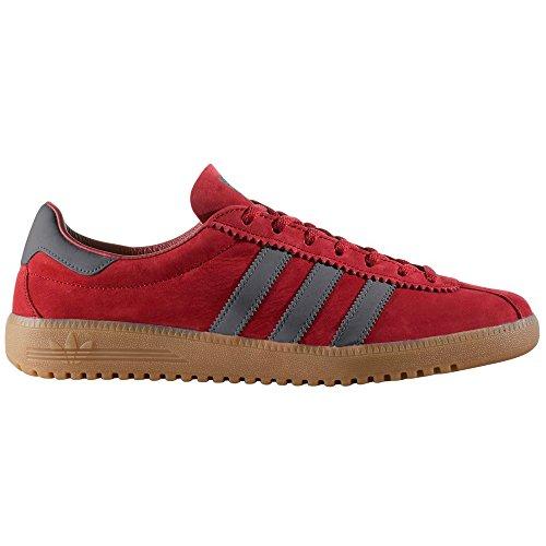 Adidas Bermuda Beige e Rosso BY9653, BY9654. Scarpe da Uomo. Sneaker. Burgundy/Utility