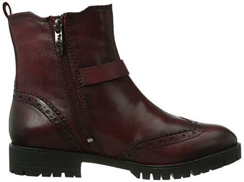 Tamaris 25943, Boots femme Rouge (Bordeaux 549)