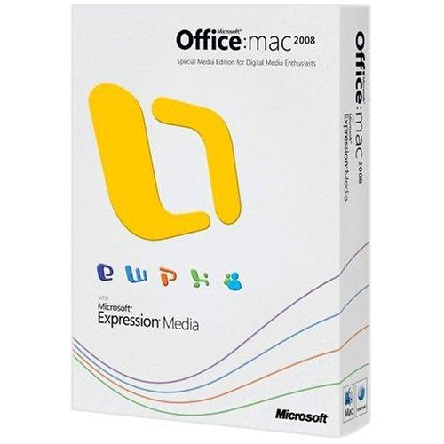 Office 2008 for Mac, Special Media Edition, Upgrade Version (Mac)