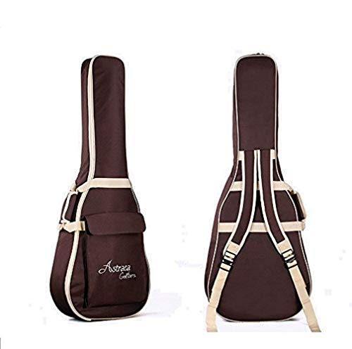 """Gitarrentasche Wasserdichte Oxford Gitarren Bag Gig Bag mit Doppelgurt und Außentaschen für 41""""zoll Akustische Folk Klassische Gitarre"""