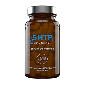 Ultra High Strength 5HTP | 400mg Griffonia Seed Extract Equivalent | 180 5-HTP Capsules – 6 Months Supply | Natural 5 HTP Enhanced with Vitamin B6 to Accelerate Results