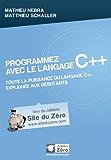 Programmez avec le langage C++ (Livre du Zéro)