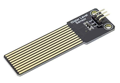 MissBirdler Füllstand Sensor Regensensor Goldkontakte Gold Coating - Wasser Hygrometer f. Arduino Raspberry DIY Aquarium Teich -