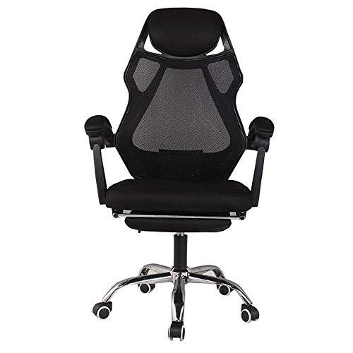 Anac Ergonomischer Gaming-Stuhl Racing Style Bürostuhl Recliner Computer Stuhl Stoff High-Back E-Sports Stuhlhöhe