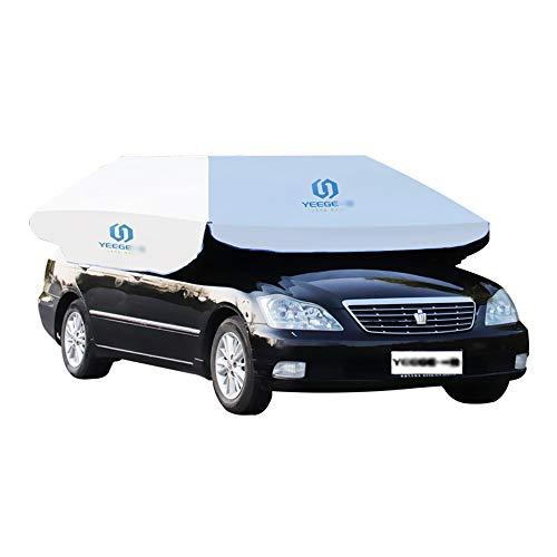 SUNSAN Auto Sonnenschutz vollautomatische Markise Auto Sonnencreme Kühlung hoher Dichte Sonnenschutz Material Patent Struktur Skelett hoher Qualität,350 * 190 -