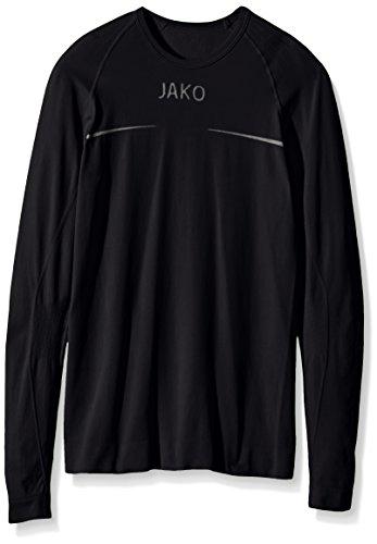 JAKO Longsleeve ComfortKinder Kinder Langarmshirt,schwarz (schwarz), 164/176
