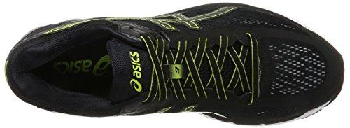 Asics Gel-Pursue 3, Scarpe da Ginnastica Uomo Nero (Black/Black/Energy Green)