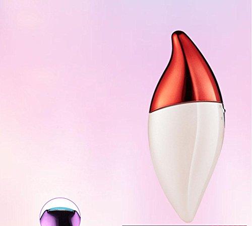 Achselhaare Haarschambehaarung Epilator Batterie Elektrische Multifunktionale Haarentfernung Lady Rasierer Rot Lila KöRper Waschen , Red Gerade Nach Nase Ringe