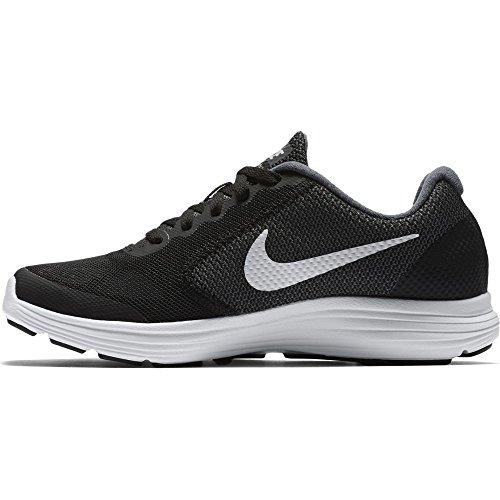 Nike Revolution 3 (Gs) Scarpe da ginnastica, Bambini e ragazzi Nero